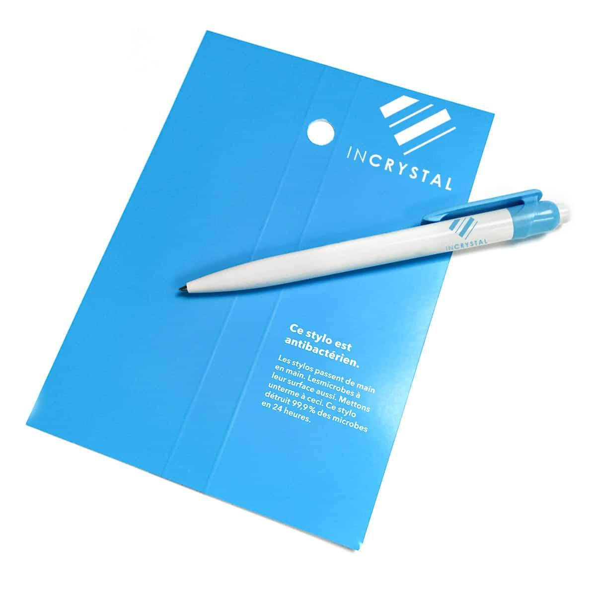 Kugelschreiber_antibakteriell_blau_InCrystal