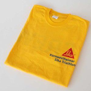 SIKA-T-Shirt-Gelb- Kornwestheimer-Triathlon_Juerg_Siegrist_Holding_AG