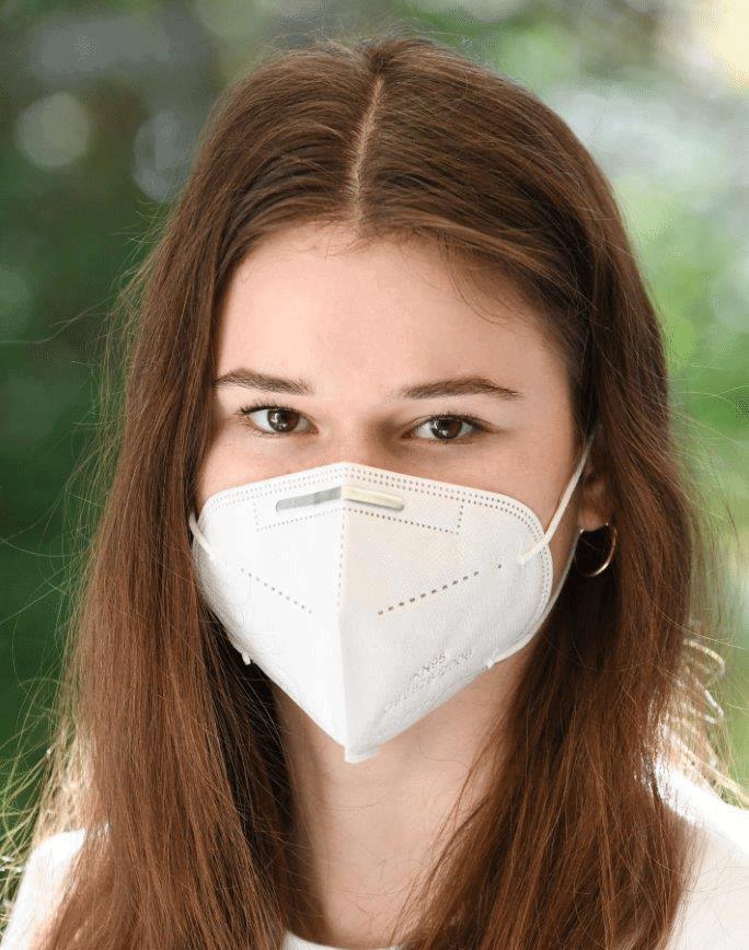 Juerg Siegrist AG - Schutzmaske Gesichtsmaske Atemschutzmaske KN95 4-lagig FFP2