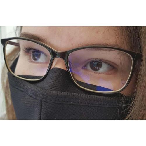 Schutzmaske für Brillenträger