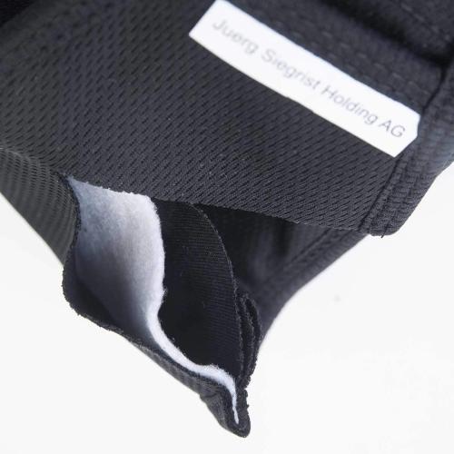 Hergestellt aus elastischem Micropolyestergewebe und innen mit einer Vlies- Filtereinlage. Angenehm zu tragen und bestens für Brillenträger geeignet.