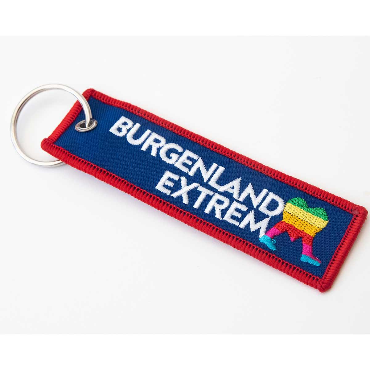 Juerg Siegrist AG - Besticktes Schlüsselanhängerband Abzeichen