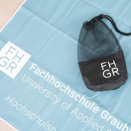 Juerg Siegrist AG - Microfaser Funktions- Sporttuch bedruckt