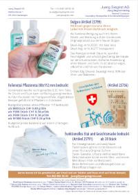 Katalog für Gesichtsmasken-Schutzmaterial